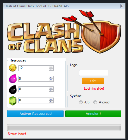 clash of clans cheats 2018